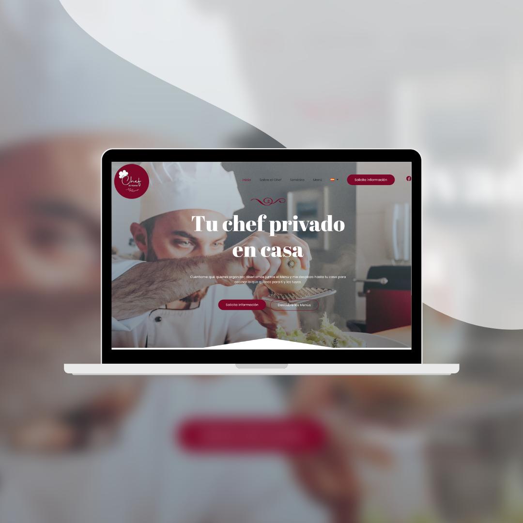 Web design Chef at home mallorca