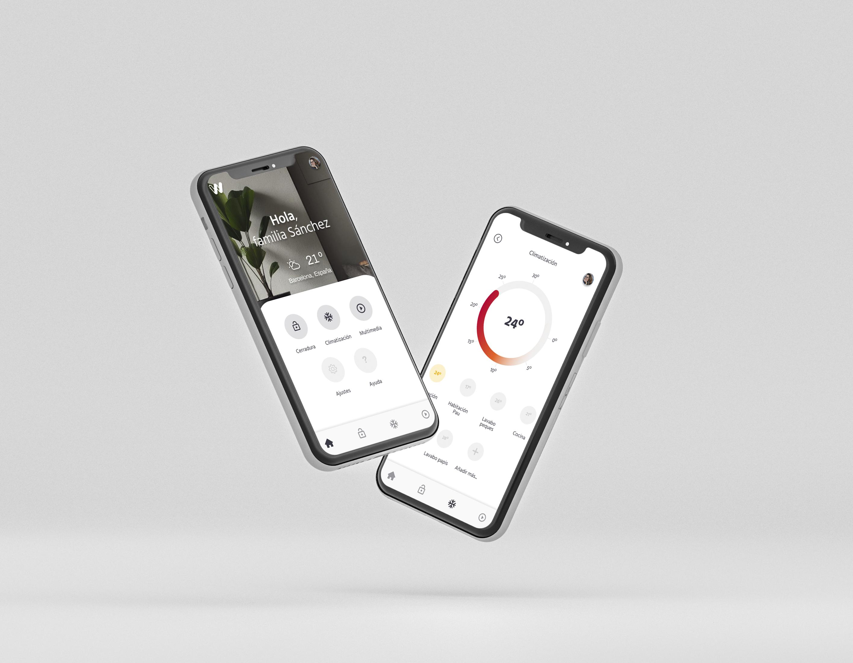 wanda home automation app